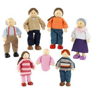 Kidkraft Poppenfamilie - Poppenhuispoppen