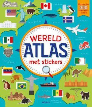 Deltas - Wereldatlas met stickers