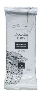 Creall Doodle Clay - Offwhite 200 gram