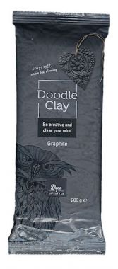 Creall Doodle Clay - Graphite 200 gram