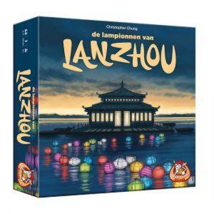 De lampionnen van Lanzhou - spel + 4 tegels extra