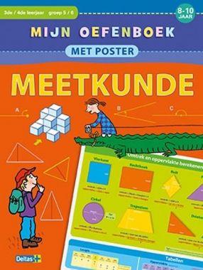 Deltas groep 5/6 - Oefenboek met poster ~ Meetkunde