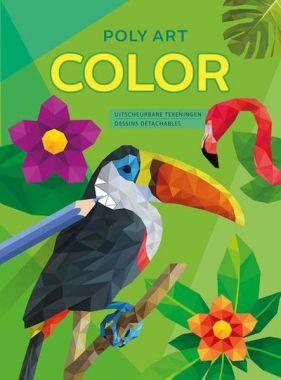 Deltas - kleurboek Poly Art Color