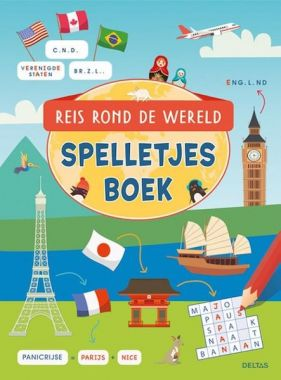 Deltas - Reis rond de wereld spelletjesboek