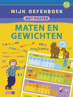 Deltas groep 6/7 - Oefenboek met poster ~ Maten en Gewichten