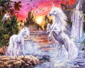 Diamond Painting - Unicorn Paradise 30x40cm