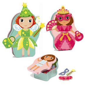 Djeco magnetisch aankleedspel - Pop Fee & Prinses Belissimo