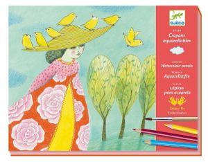 Djeco kleuren aquarel - Prachtige ontmoetingen