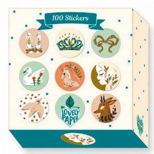 Djeco 100 stickertjes - Lucille