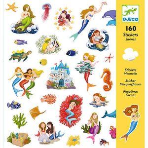 Djeco stickers - Zeemeerminnen