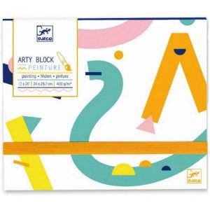 Djeco Arty Block - schilderboek