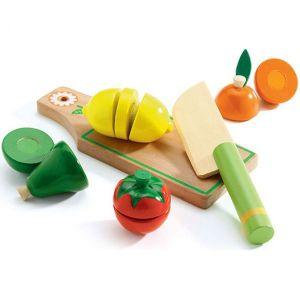 Djeco houten speelgoed - Groente en Fruit