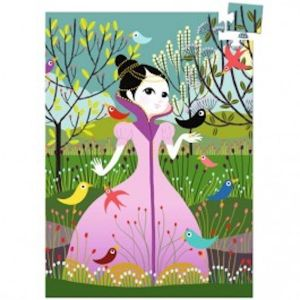 Djeco mini puzzel - prinses Elvira