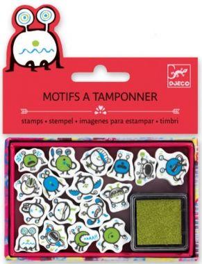 Djeco knutselen - Mini Stempels Emoticons