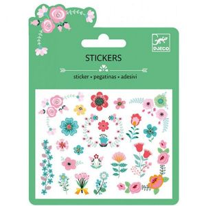 Djeco mini stickers - Bloemetjes