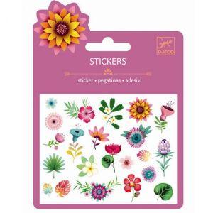Djeco mini stickers - Tropische bloemen