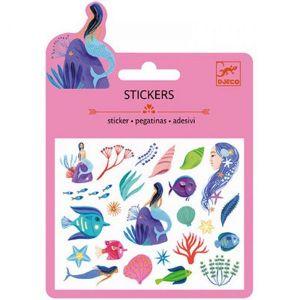 Djeco mini stickers - Zeemeerminnen