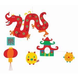 Djeco mobiel - Chinese Draak