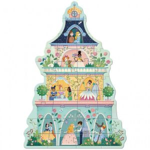 Djeco puzzel prinsessentoren (36 st)