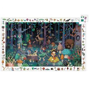 Djeco puzzel - Het Betoverde Bos (100 stukjes)