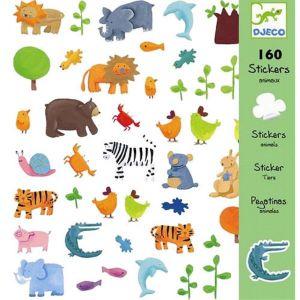 Djeco stickers - Allerlei Dieren