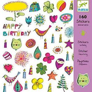 Djeco stickers - Verjaardag
