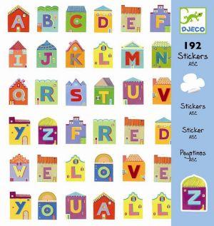 Djeco stickers - Alfabet