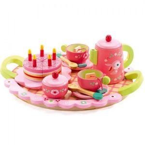 Djeco houten speelgoed - Verjaardagsservies Lili Rose