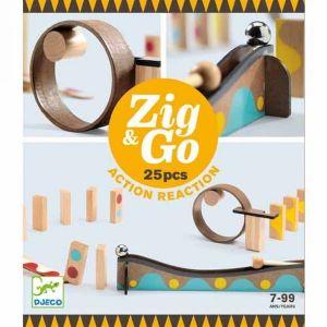Djeco Zig & Go - Kettingreactie spel (25st)