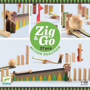 Djeco Zig & Go - Kettingreactie spel (27 st)
