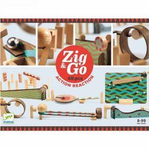 Djeco Zig & Go - kettingreactie spel (48 st)