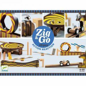 Djeco Zig & Go - kettingreactie spel (45 st)