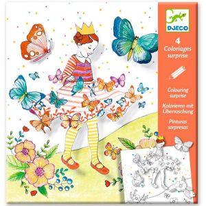 Djeco Kleuren die verrassen - Vlindermeisje