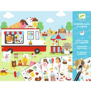 Djeco knutselen - krasplaatjes Sugarland
