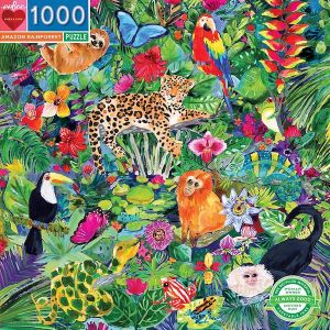 Eeboo puzzel - Amazon Rainforest 1000st.