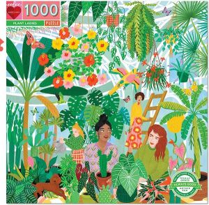 Eeboo Puzzel - Plant Ladies 1000st.