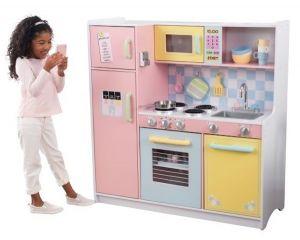 Kidkraft speelkeuken - Large Pastel