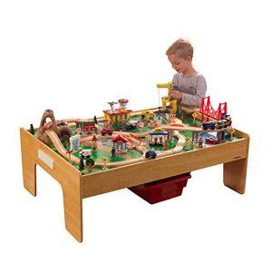 Kidkraft Adventure Town houten treinset met tafel