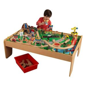 Kidkraft Waterval treinset en speeltafel