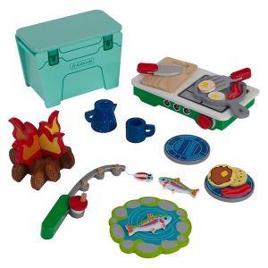Kidkraft speelset camping kookset
