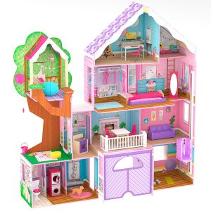 Kidkraft Poppenhuis - Treehouse Retrait Mansion