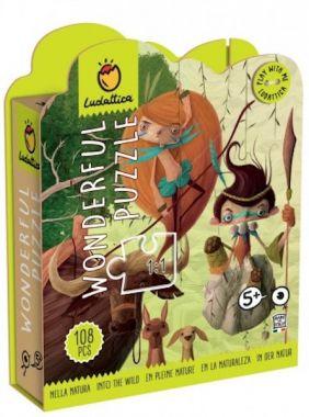 Ludattica Wonderful Puzzle - Into the Wild