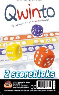 Qwinto - scoreblocks