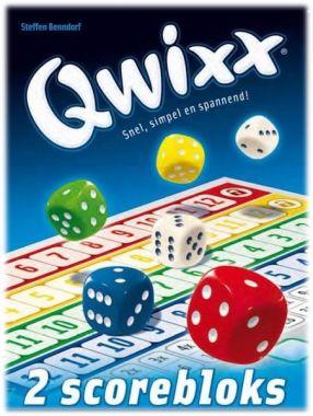 Qwixx - scoreblocks