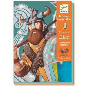 Djeco knutseldoos folie - Vikingen