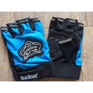Sporthandschoenen stuntstep - blauw (one size)