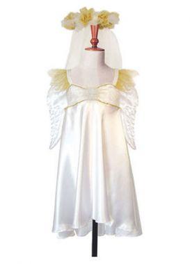 Travis Designs - Engelen jurk met vleugels 3~5 jaar