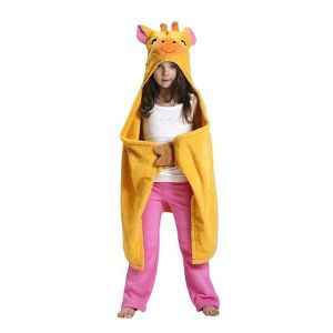 Zoocchini badcape badjas Giraffe Jaime - Jaime de giraf