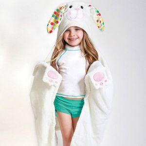 Zoocchini badcape badjas Bunny Bella - Bella het konijn *SHOWMODEL*