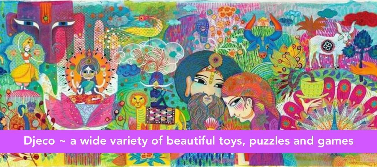 Djeco puzzels